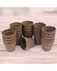 25 Peat Pots
